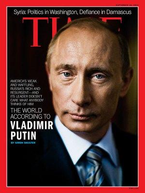 Мир согласно Путину © TIME