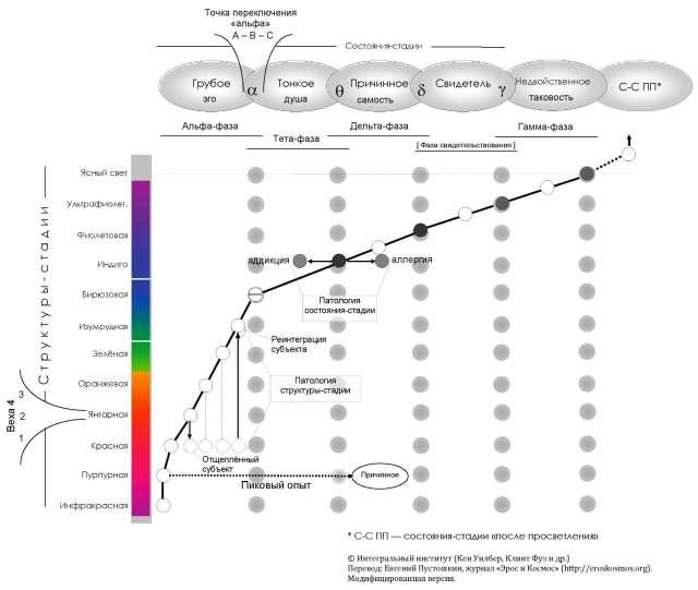 Уровни и состояния сознания, которые необходимо учитывать в интегральном образовании