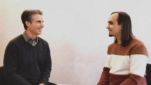 Клинические психологи Дэвид Эллиотт и Евгений Пустошкин (Санкт-Петербург, январь 2020)