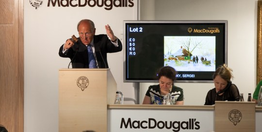 MacDougall arts auction house