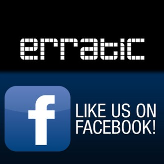 NEW / erratic / facebook page