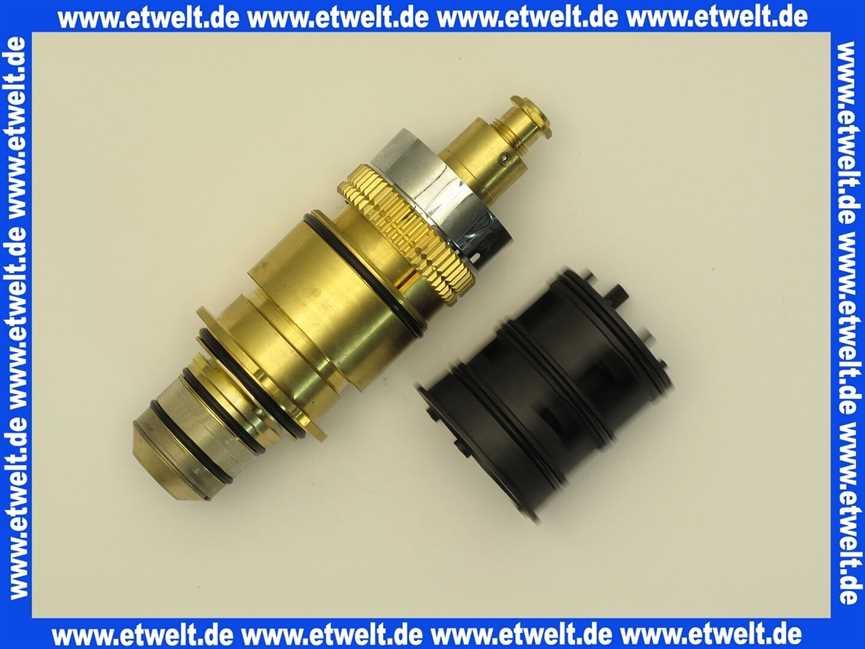 Thermostat Duscharmatur 904501 Hansa Temperaturregeleinheit Komplett F.up