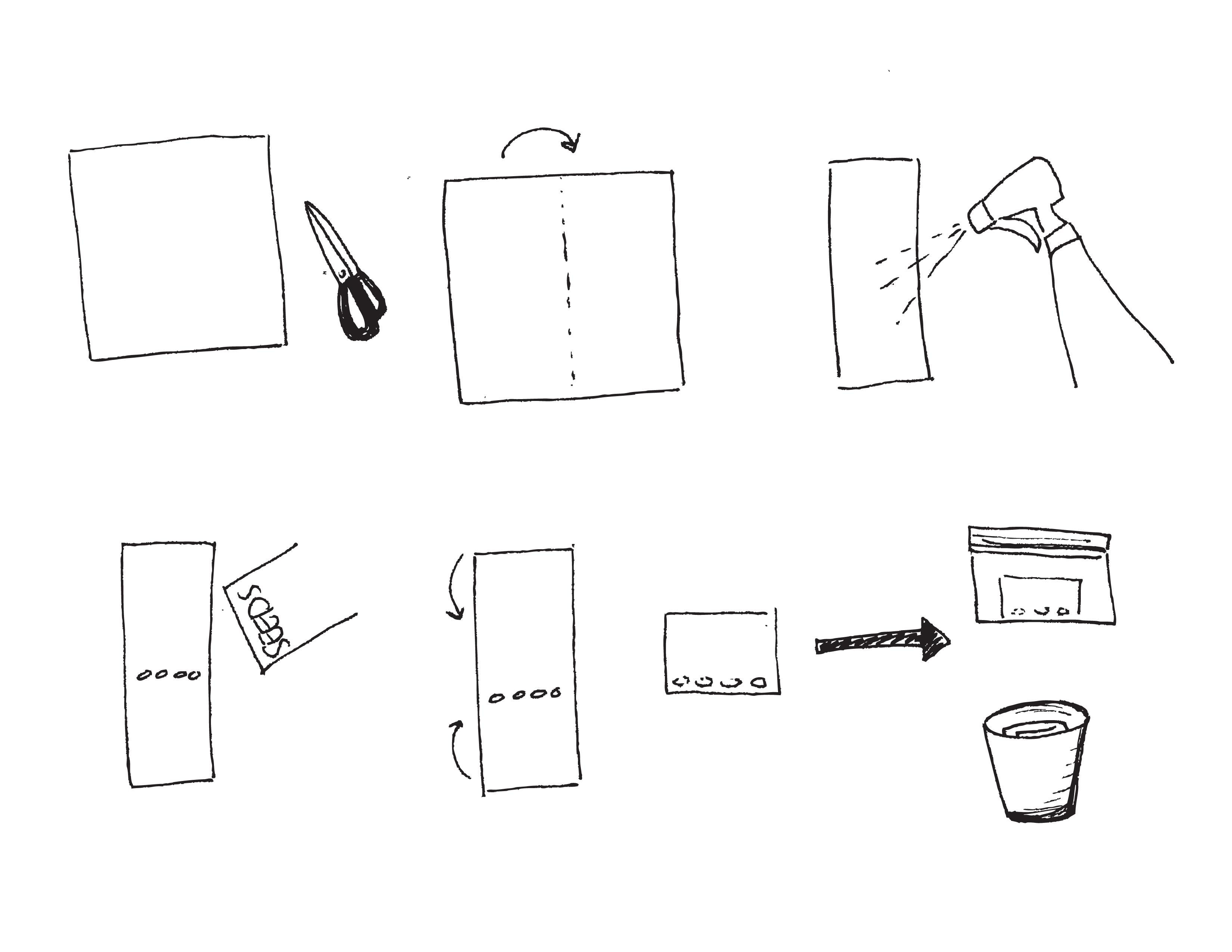 diagram of plastic bags