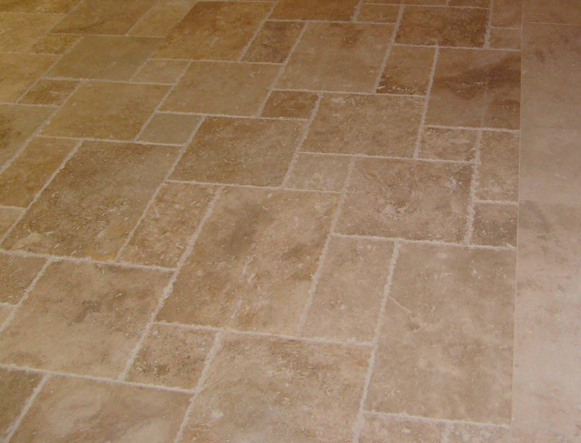 Floor Pattern In Tile
