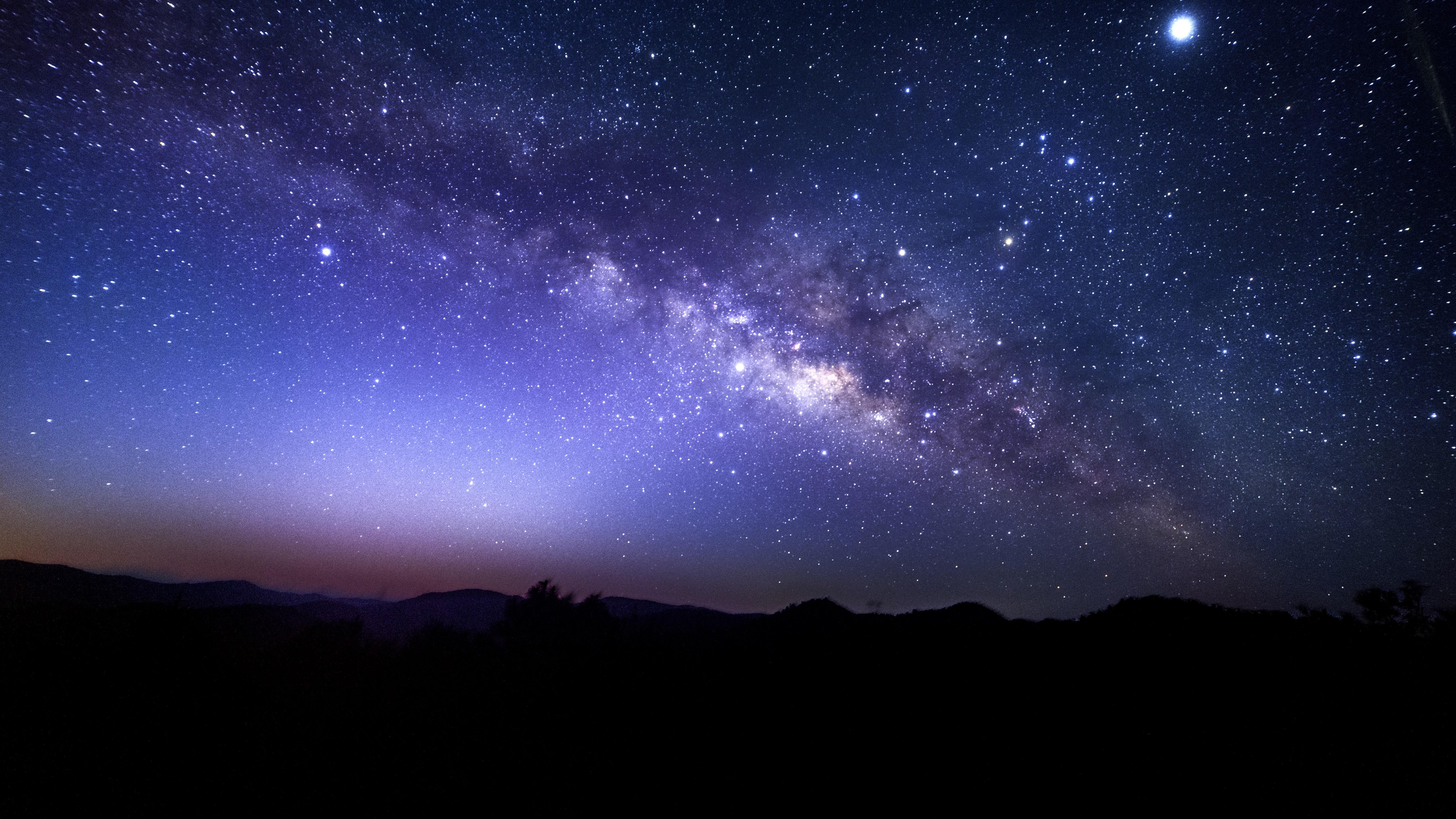 Hd Wallpapers Girls 1366x768 Fondos De Pantalla Estrellado Cielo Estrellas Noche