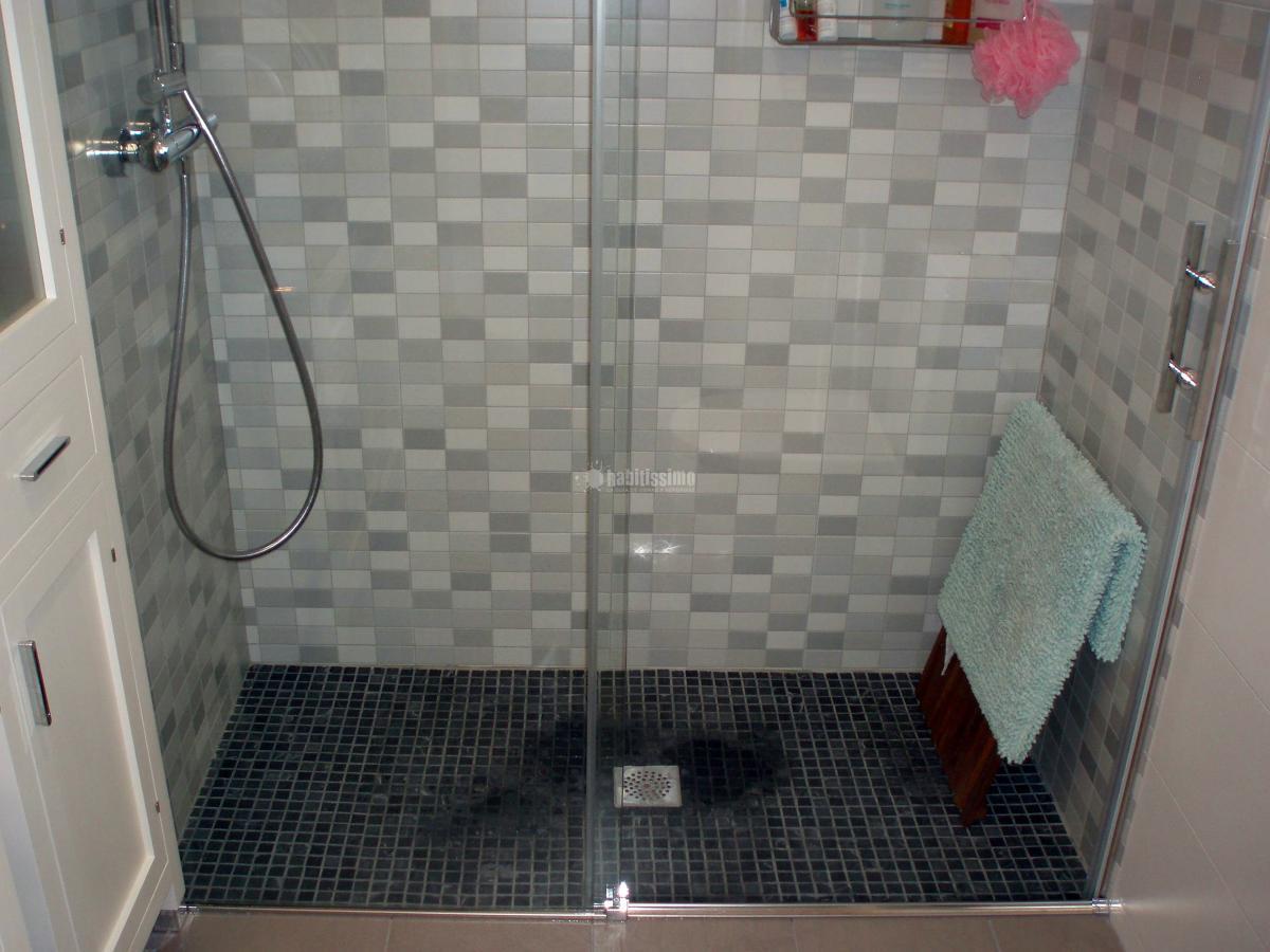 Cuartos De Baño Gresite | Calentadores Solares Plato De Ducha De ...