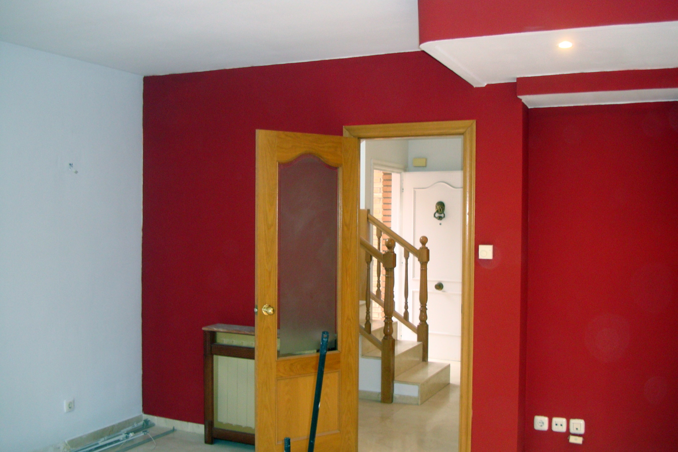 Pintura Granate Pared Pintar Casa Ideas Pintores