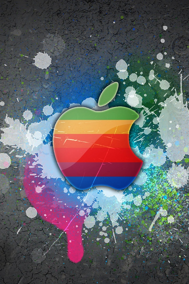 Apple Iphone 5c Wallpaper Graffiti Pared De Apple Iphone X 8 7 6 5 4 3gs Fondos