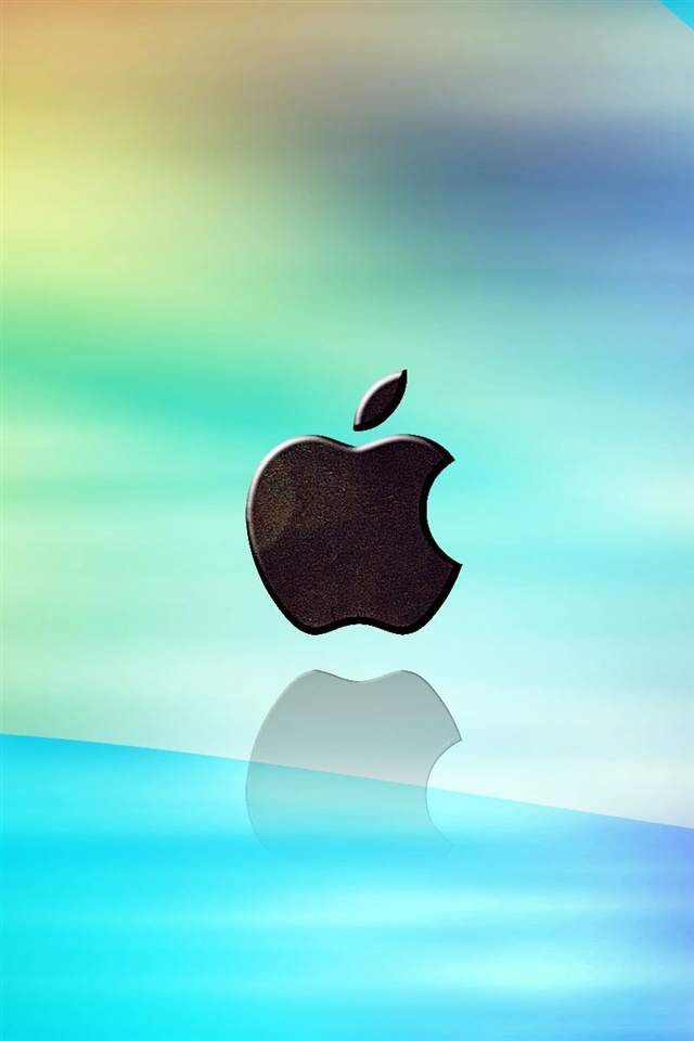 3d Wallpaper For Iphone 3gs Manzana Luz Azul De Fondo Iphone X 8 7 6 5 4 3gs Fondos