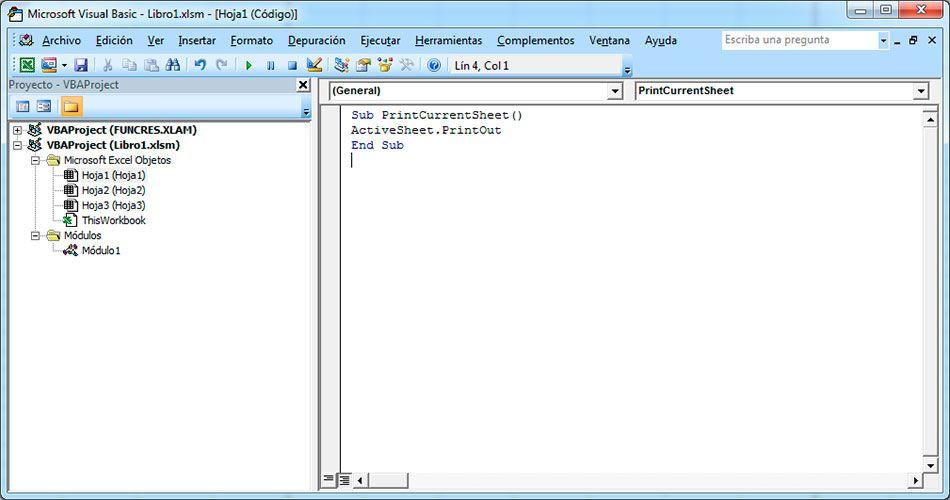 Cómo imprimir en Excel con VBA Imprimir con Visual Basic