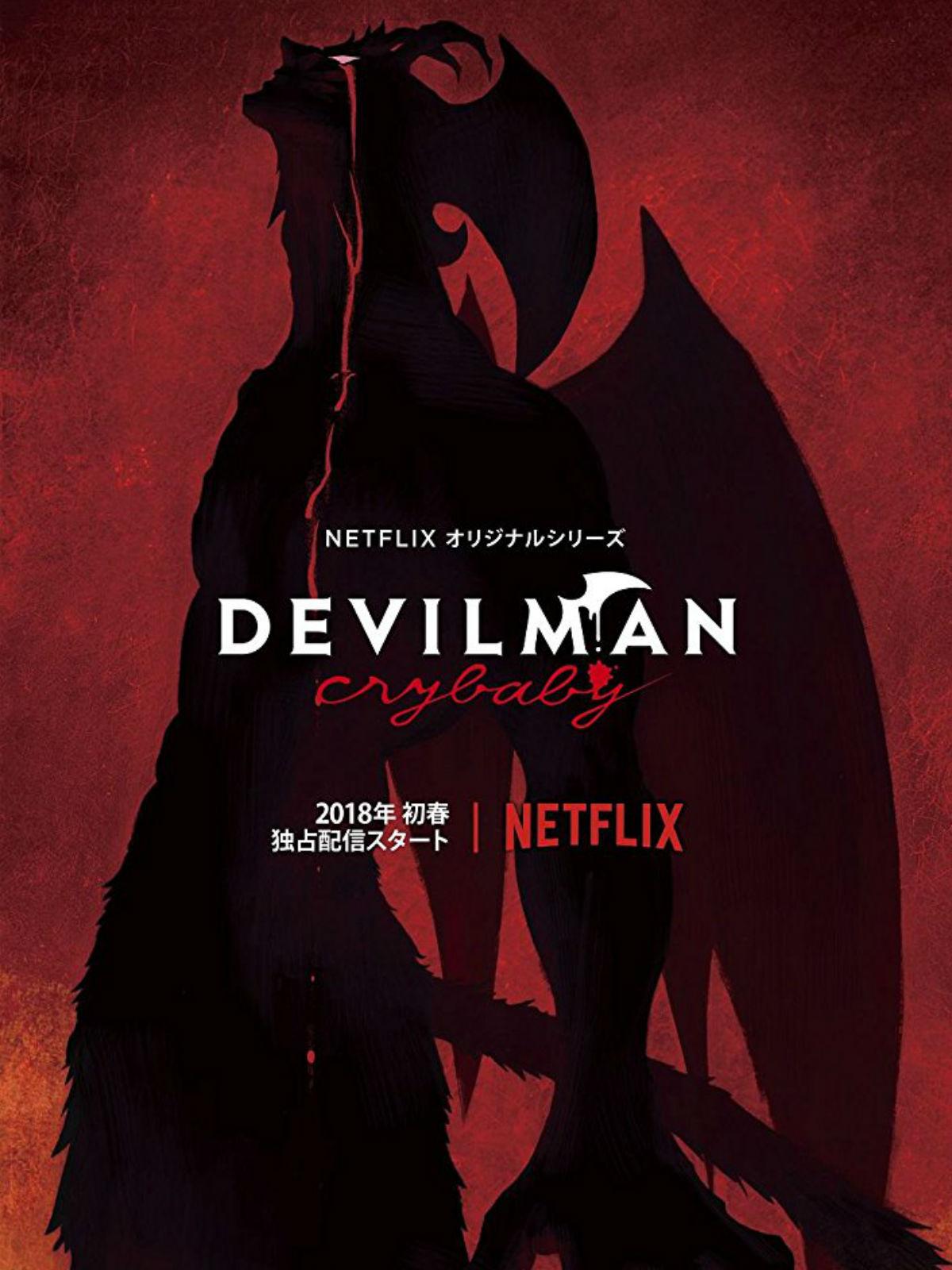 Anime Devil Wallpaper Devilman Crybaby Serie 2018 Sensacine Com