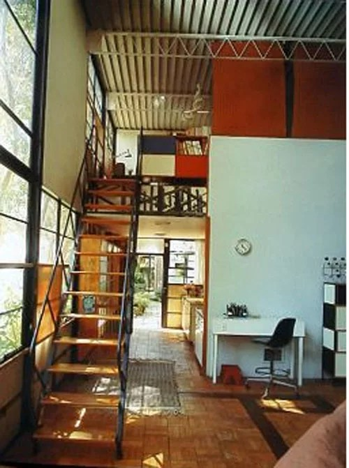 Charles And Ray Eames Casa Eames / Case Study House Nº8 - Ficha, Fotos Y Planos