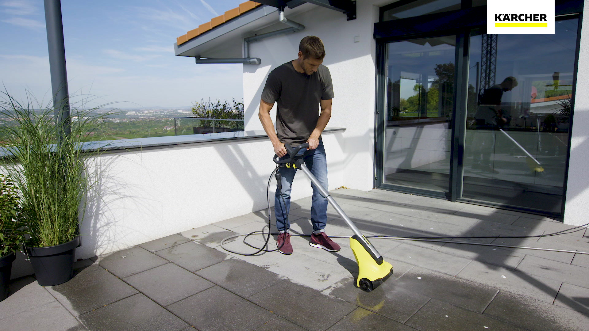 Terrasse Fenster Reinigen Patio Cleaner Pcl 4