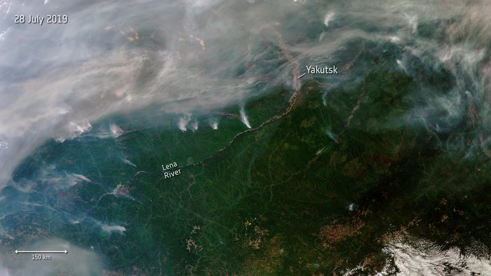 4 20 Space In Images - 2019 - 07 - Siberian Wildfires