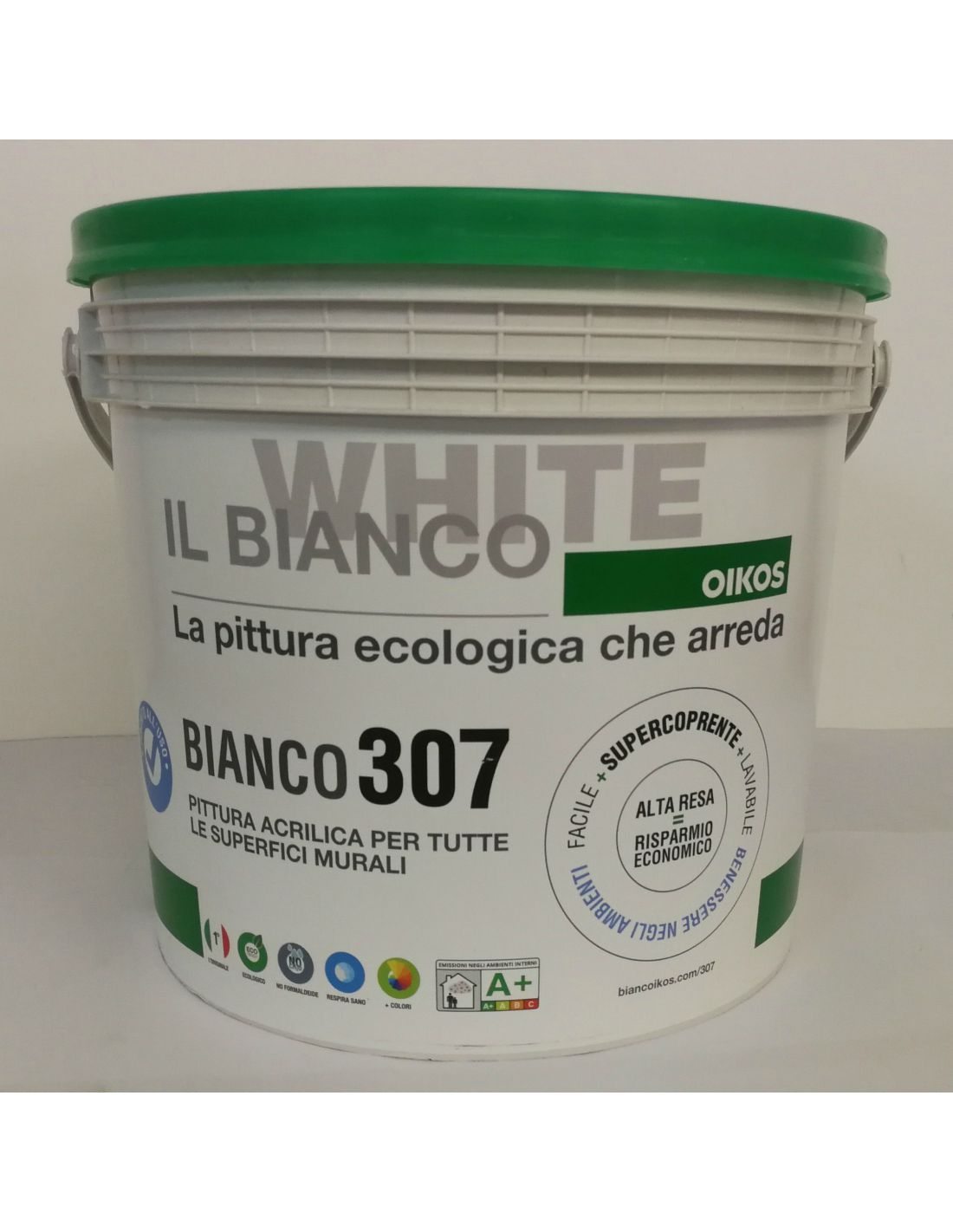 Pittura Lavabile Vellutata Bianco 307 By Oikos Compra Online Su Esaem It Assistenza Qualificata