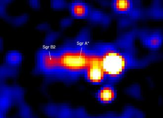 The Milky Ways Black Hole Courtesy European Space Agencys Integral Mission