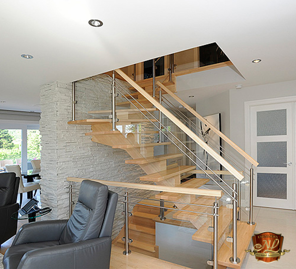 Marche Escalier Metal Collection Haut De Gamme | Escaliers Normand Laterreur