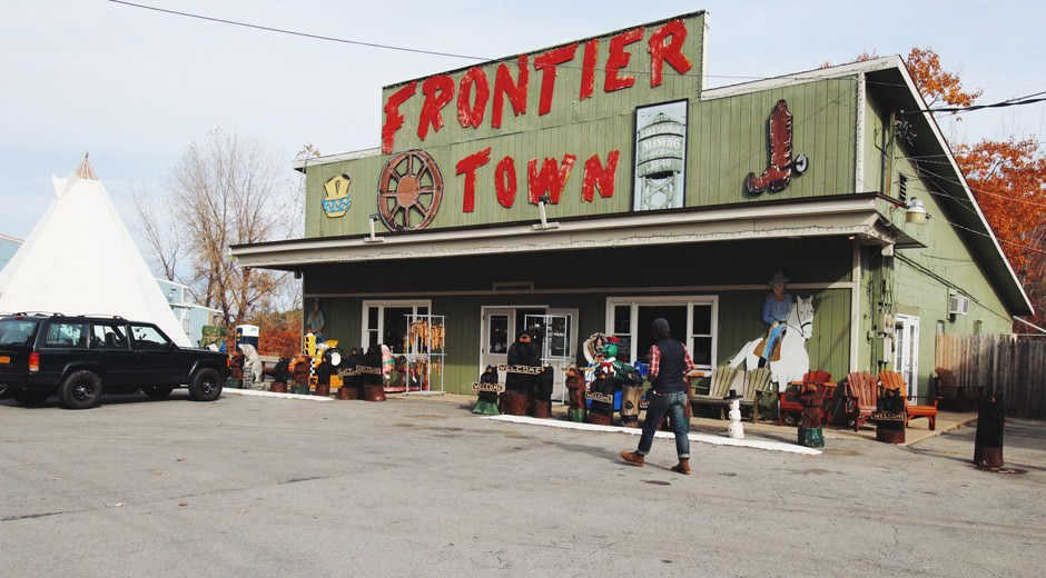 frontier town ny
