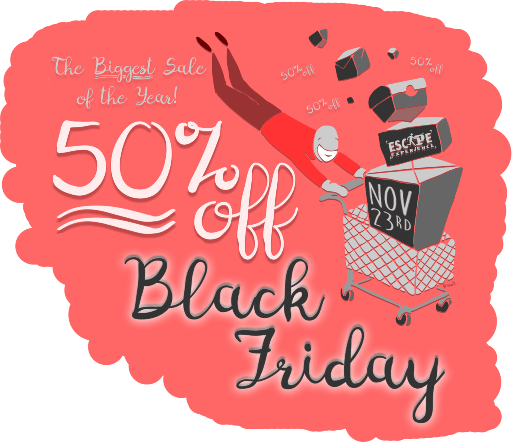 Www Black Friday Huge 50 Off Black Friday Savings Escape Experience Chattanooga