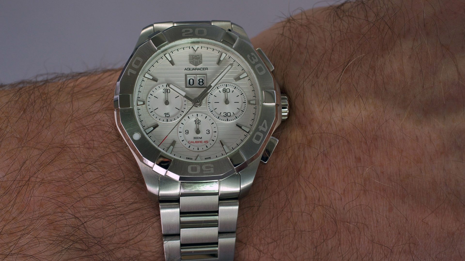 Calibre 45 Tag Heuer Aquaracer 300m Calibre 45 Automatic Chronograph