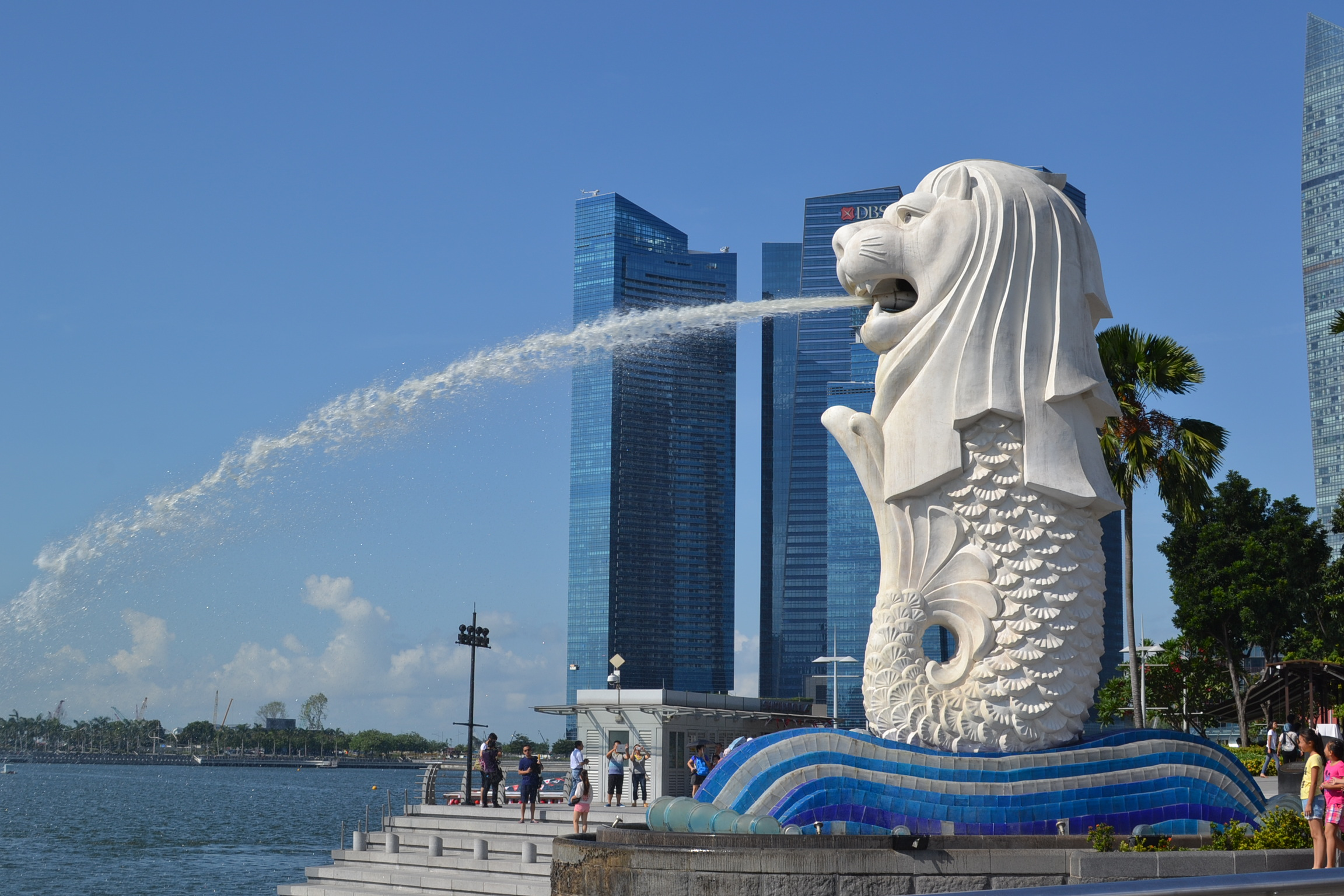 Lion Animal Wallpaper Merlion Park Singapore In Photos Escape With Style