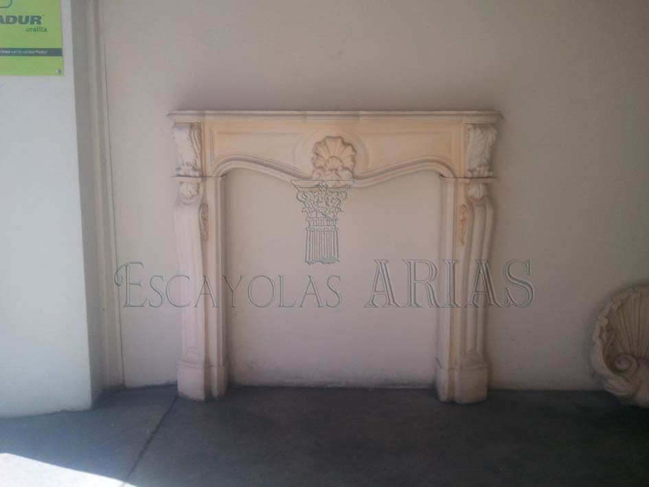Cornisas Decorativas Chimeneas | Escayolas Arias