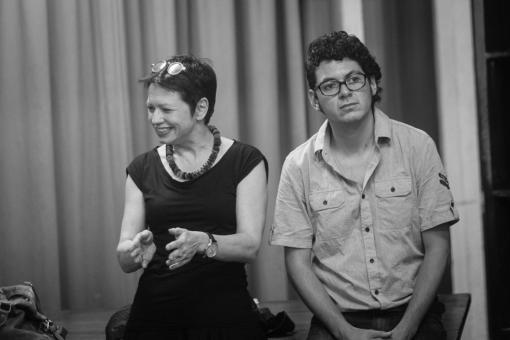 Myriam Gautschi e David Barragán