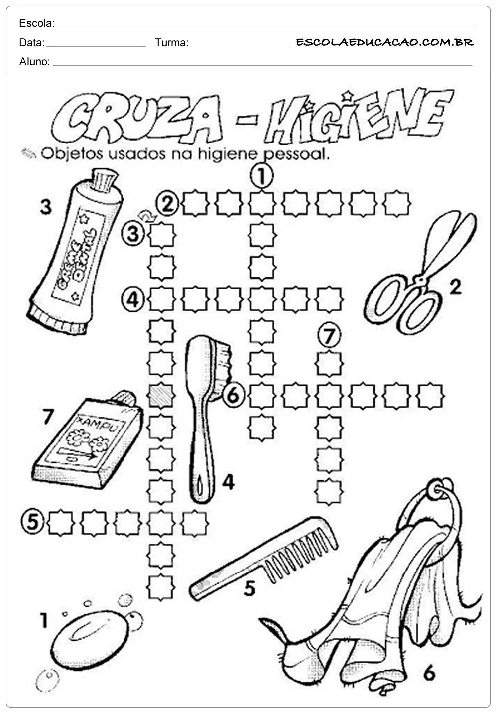 atividades caligrafia auto electrical wiring diagram Marshall 1960 Wiring Schematic atividades higiene corporal cruza higiene