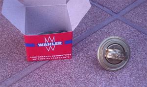 Para este caso, utilizamos a válvula da marca Wahler que parece ser a melhor no mercado.