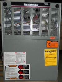 WeatherKing Acclaim II 150000 BTU Gas Furnace WGPH-15EARJR ...