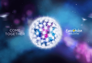 Eurovision 2016 theme artwork - Come Together