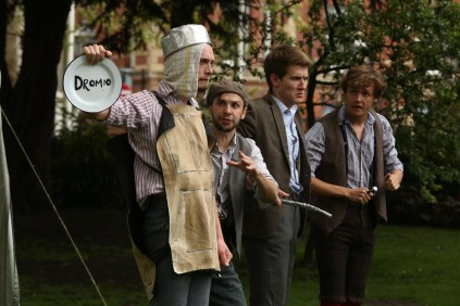 """Comedy of Errors"" by Handlebards"