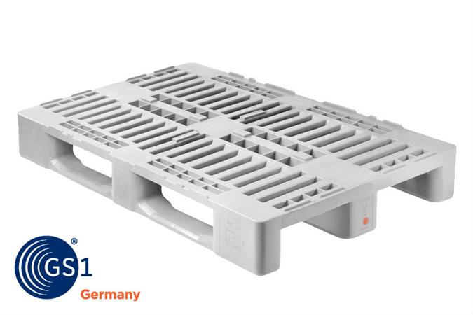 Euro Kunststoffpaletten Plastic Hygienic Pallets H1/ H2 / H3 - Pb-h1 - Products