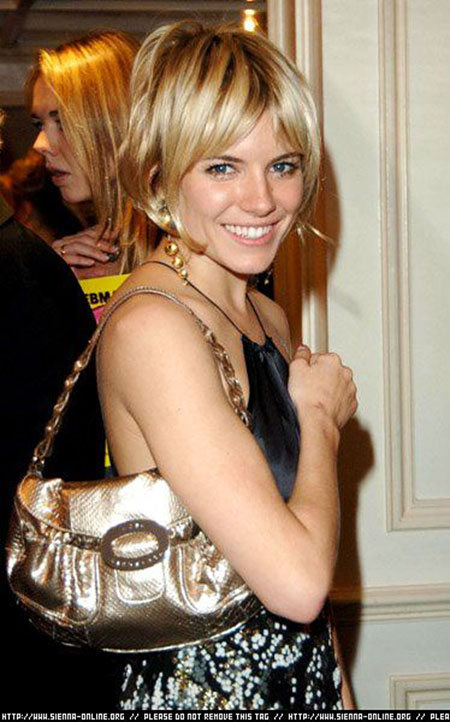 Pixie Cut Choppy 20 Best Sienna Miller Short Hair Short Hairstyles