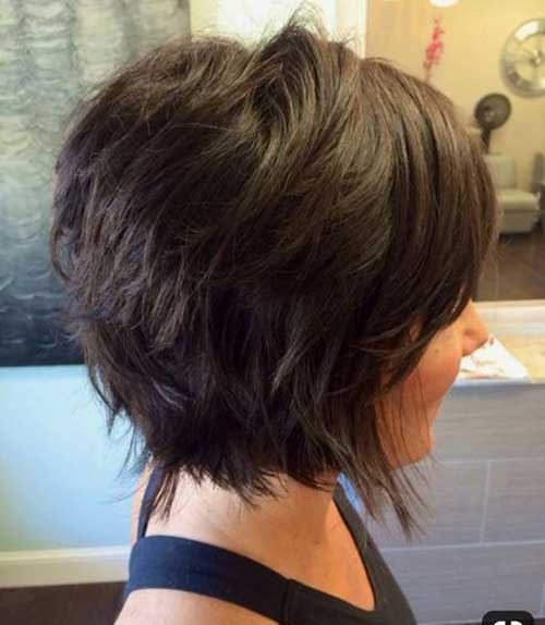 Bob Hairstyles The Back View 20 Fabulous Short Layered Hairstyles Short Hairstyles
