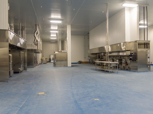 Kitchen Units Midwest Greenfield Fresh Kitchen Facility - Esi Group Usa