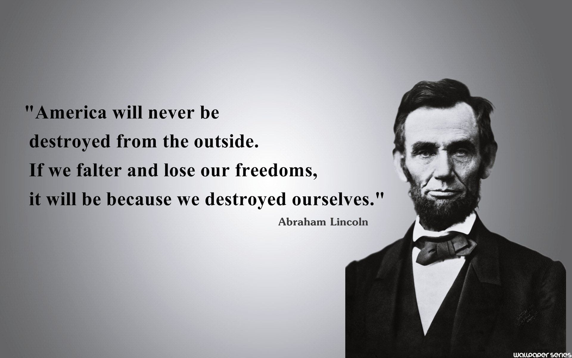 Best Meaningful Quotes Wallpapers Abraham Lincoln Wallpaper 1920x1200 61340