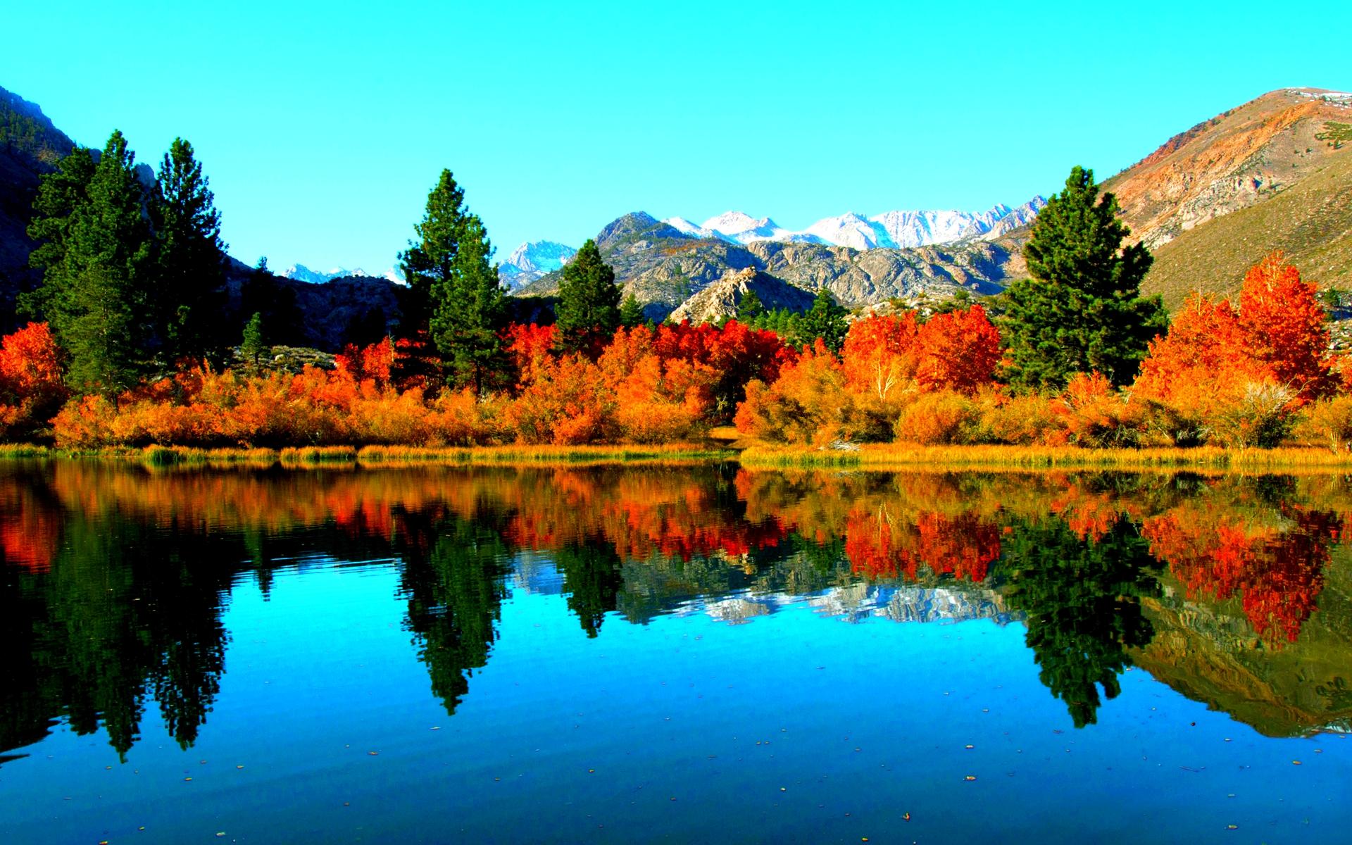Colorado Fall Desktop Wallpaper Autumn Lake Wallpaper 1920x1200 29049