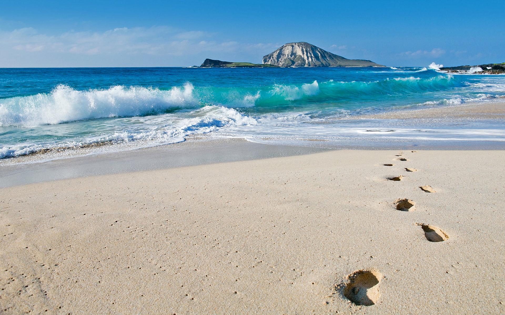Frank Ocean Wallpaper Iphone X Beach Footprints Wallpaper 1920x1200 29217