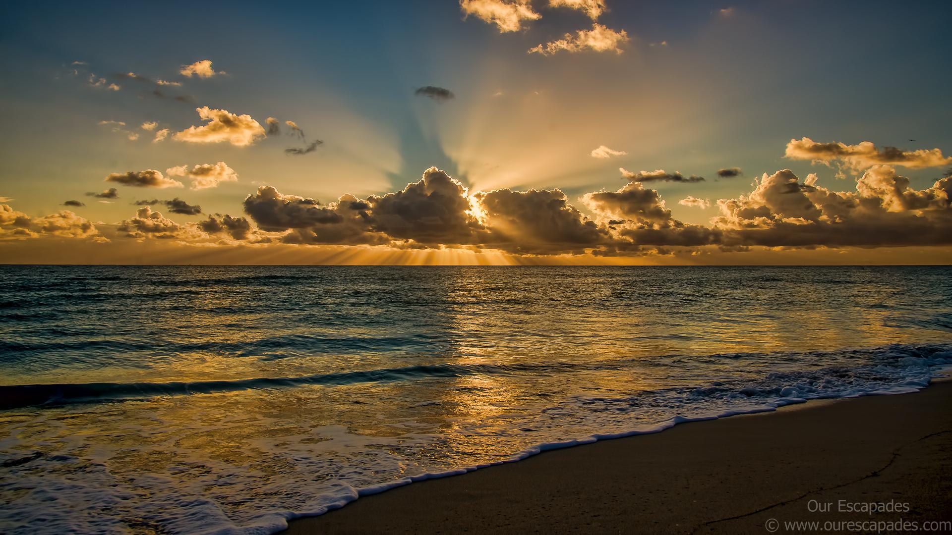 Africa 3d Pro Live Wallpaper Beach Sunrise Wallpaper 1920x1080 75446