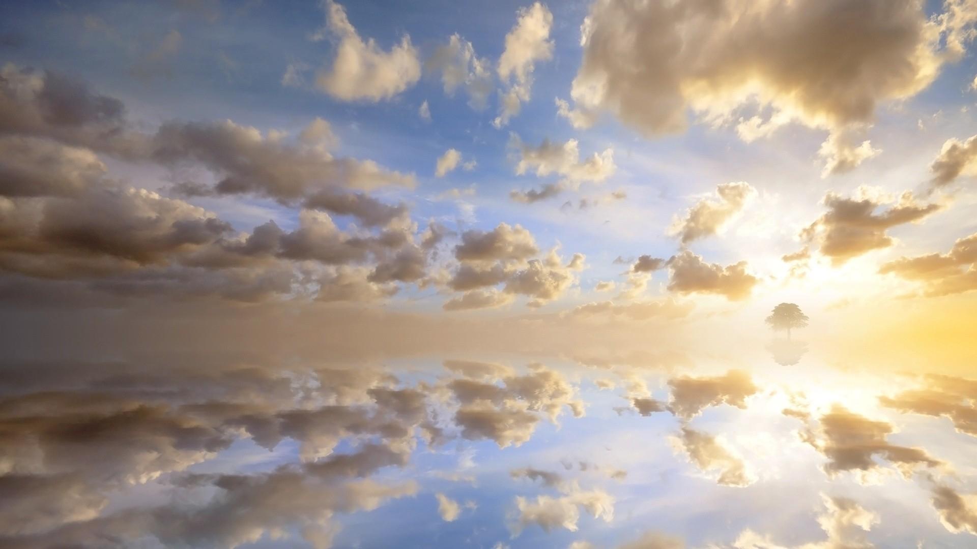 Mystic Falls Wallpaper Beautiful Cloudy Sky Wallpaper 1920x1080 29298