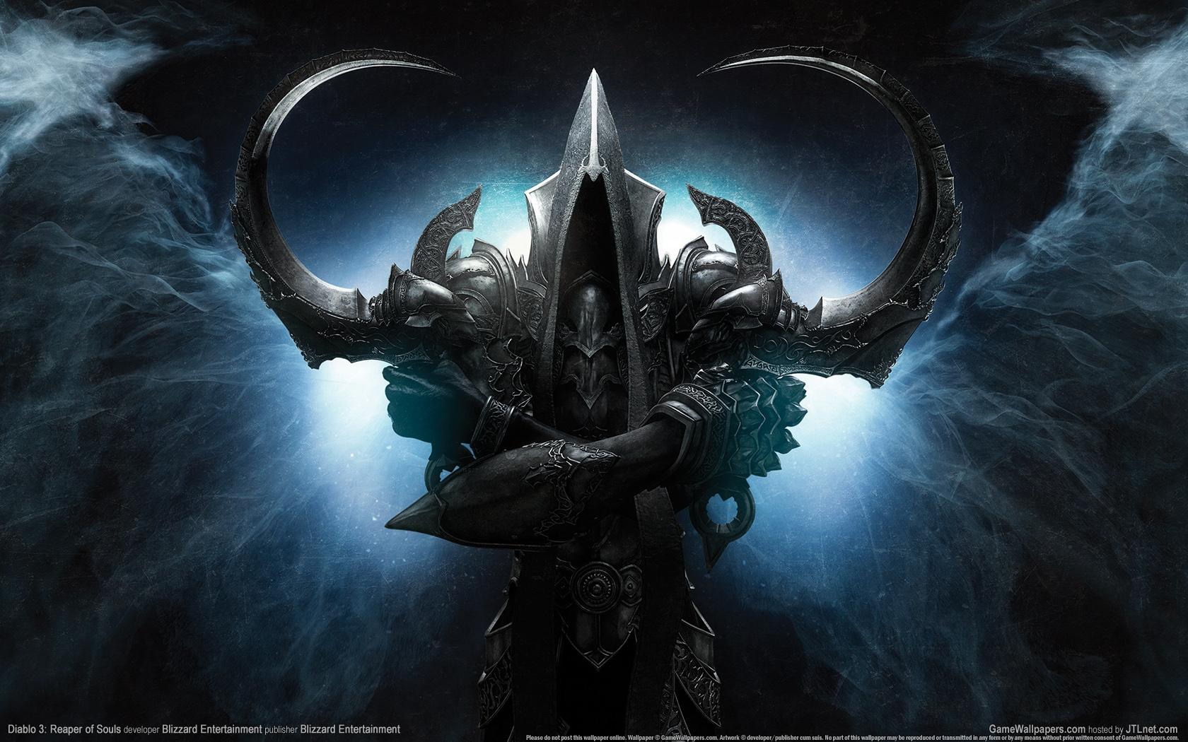 Mw3 3d Wallpapers Diablo Reaper Of Souls Wallpaper 1680x1050 67415
