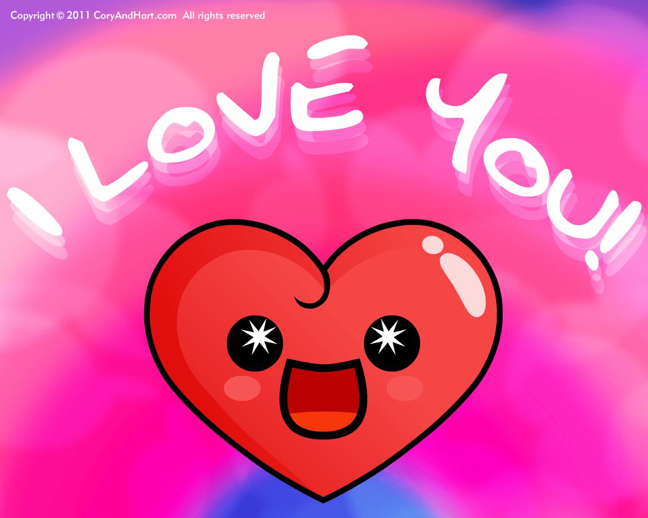 3d Cartoon Love Wallpaper Download Hart Wallpaper 1280x1024 54331