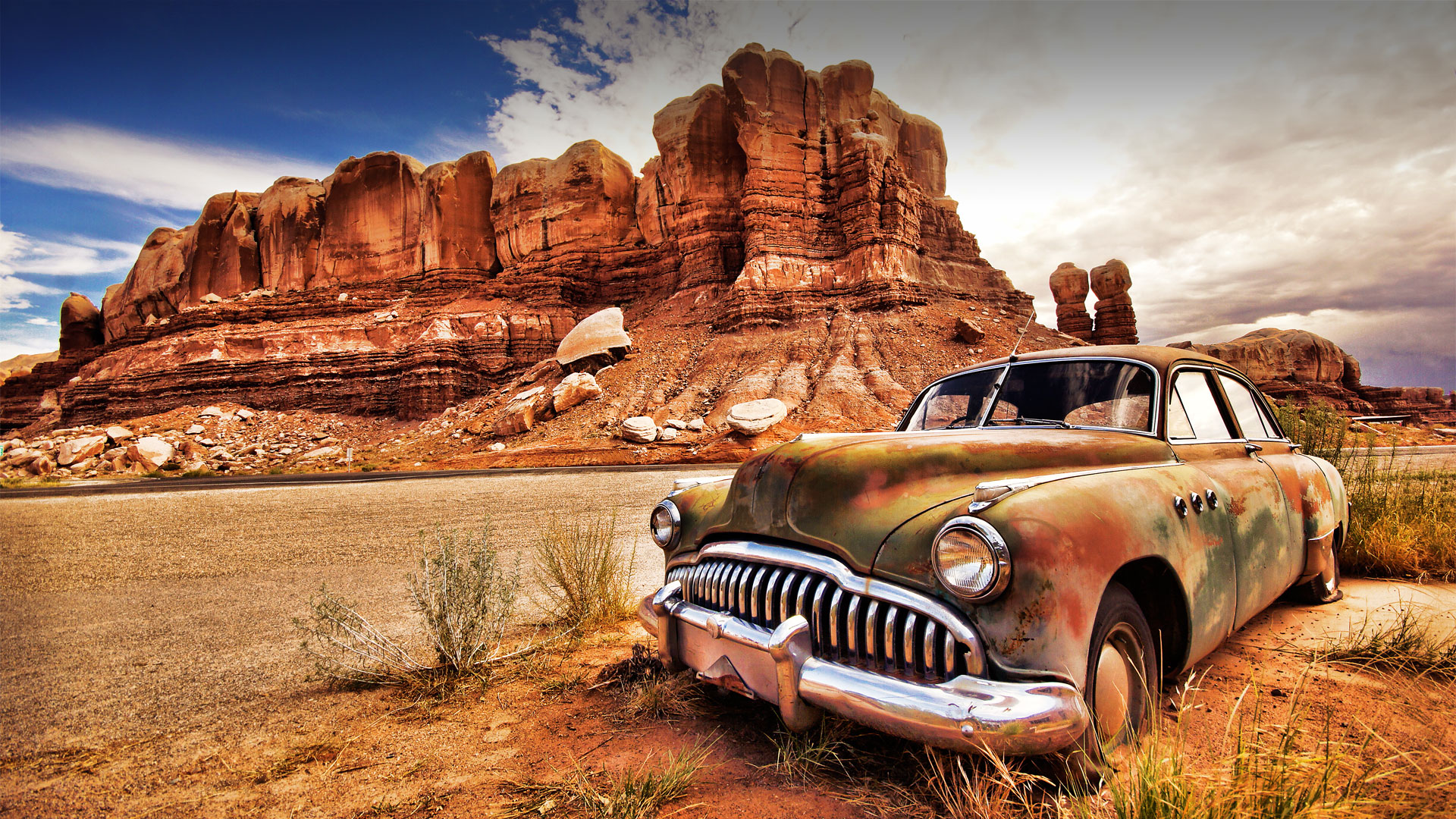 Cool Old Cars Wallpapers Hdr Photo Wallpaper 1920x1080 68576