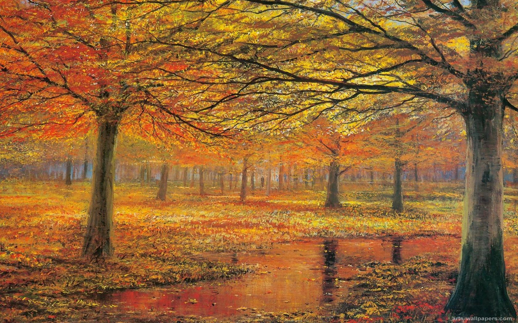 Rainy Fall Day Wallpaper Jackson Pollock Wallpaper 1680x1050 59738