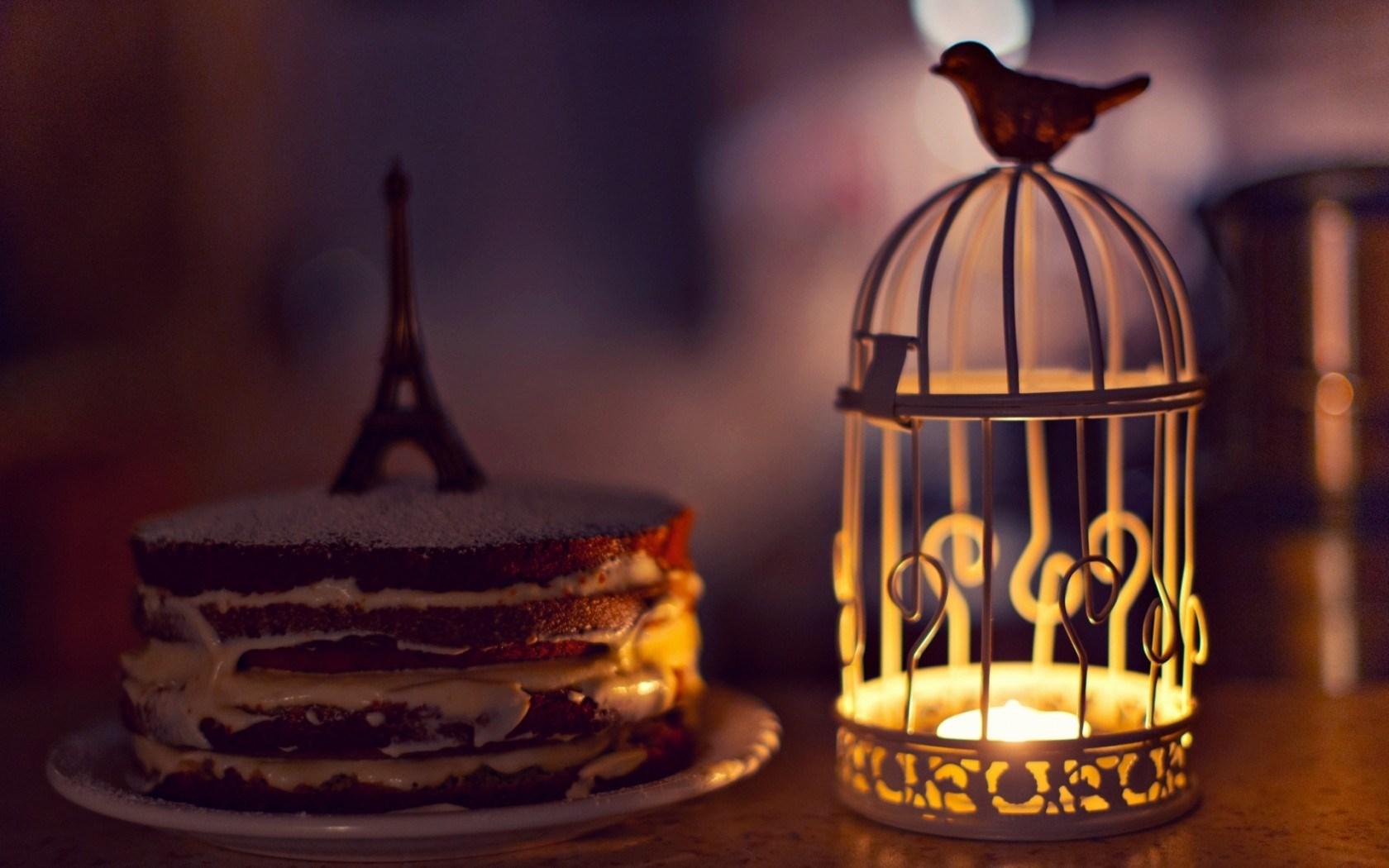 Cute Rat Wallpaper Hd 1366x768 Mood Cell Candle Lantern Bird Cake Eiffel Tower Statue
