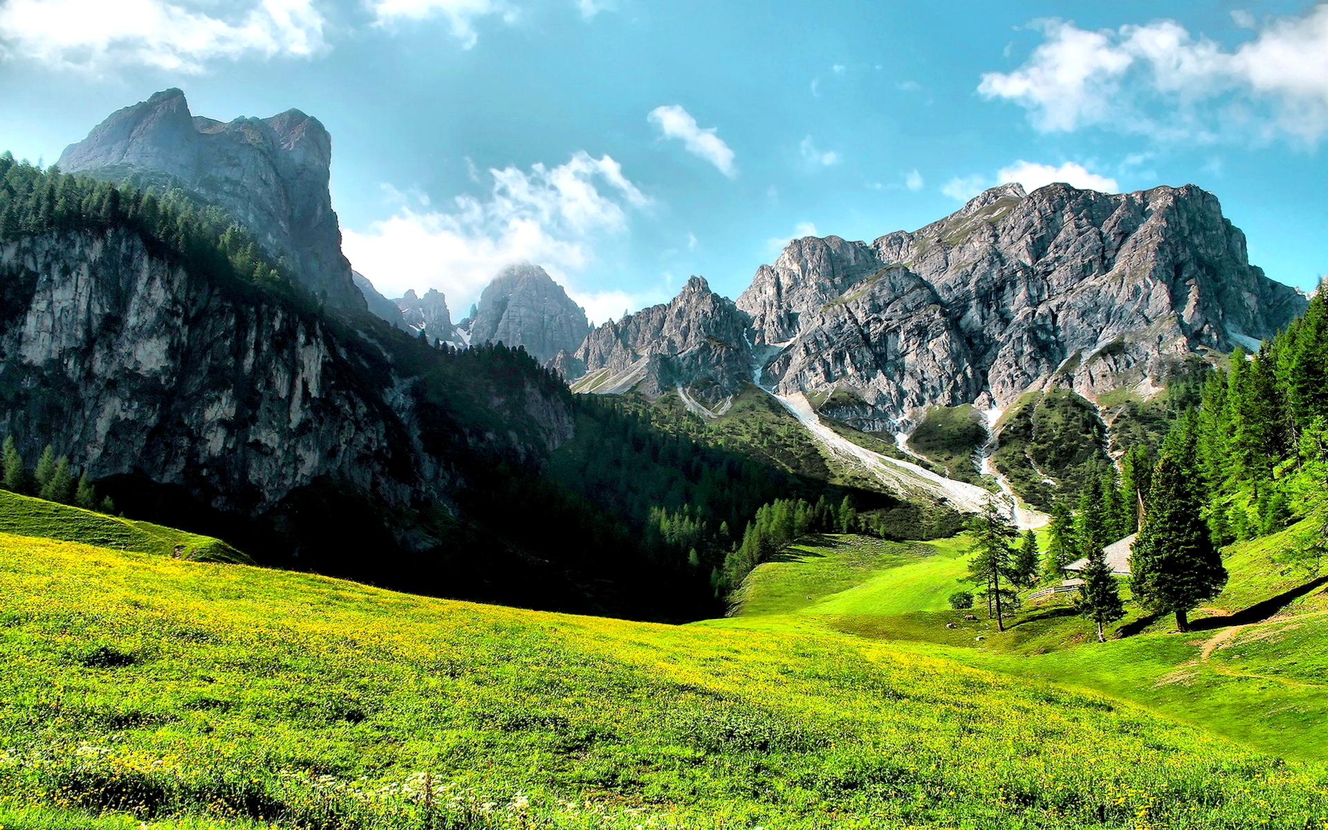 1366x768 Wallpapers Hd Cars Mountain Valley Wallpaper 1920x1200 68702