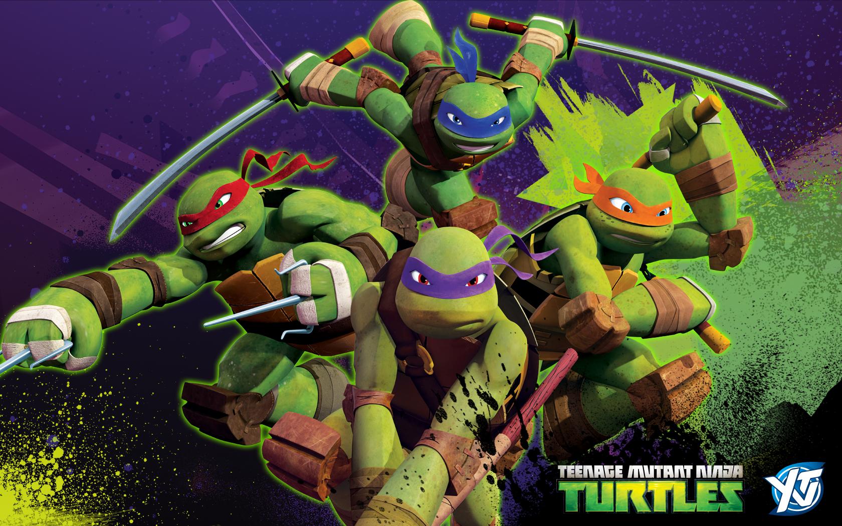 Cute Ninja Turtle Wallpaper Ninja Turtles Wallpaper 1680x1050 48555