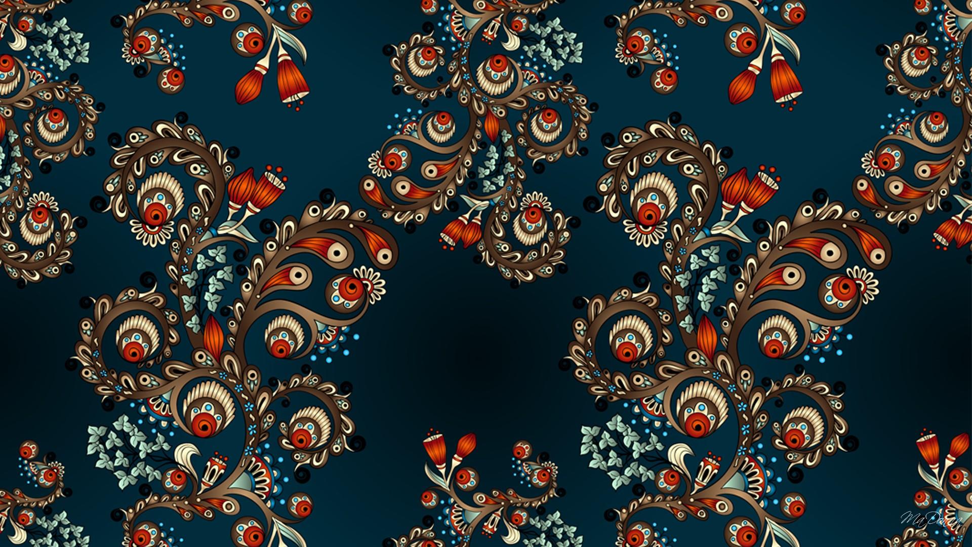 Fall Desktop Wallpaper Mac Paisley Wallpaper 1920x1080 45353