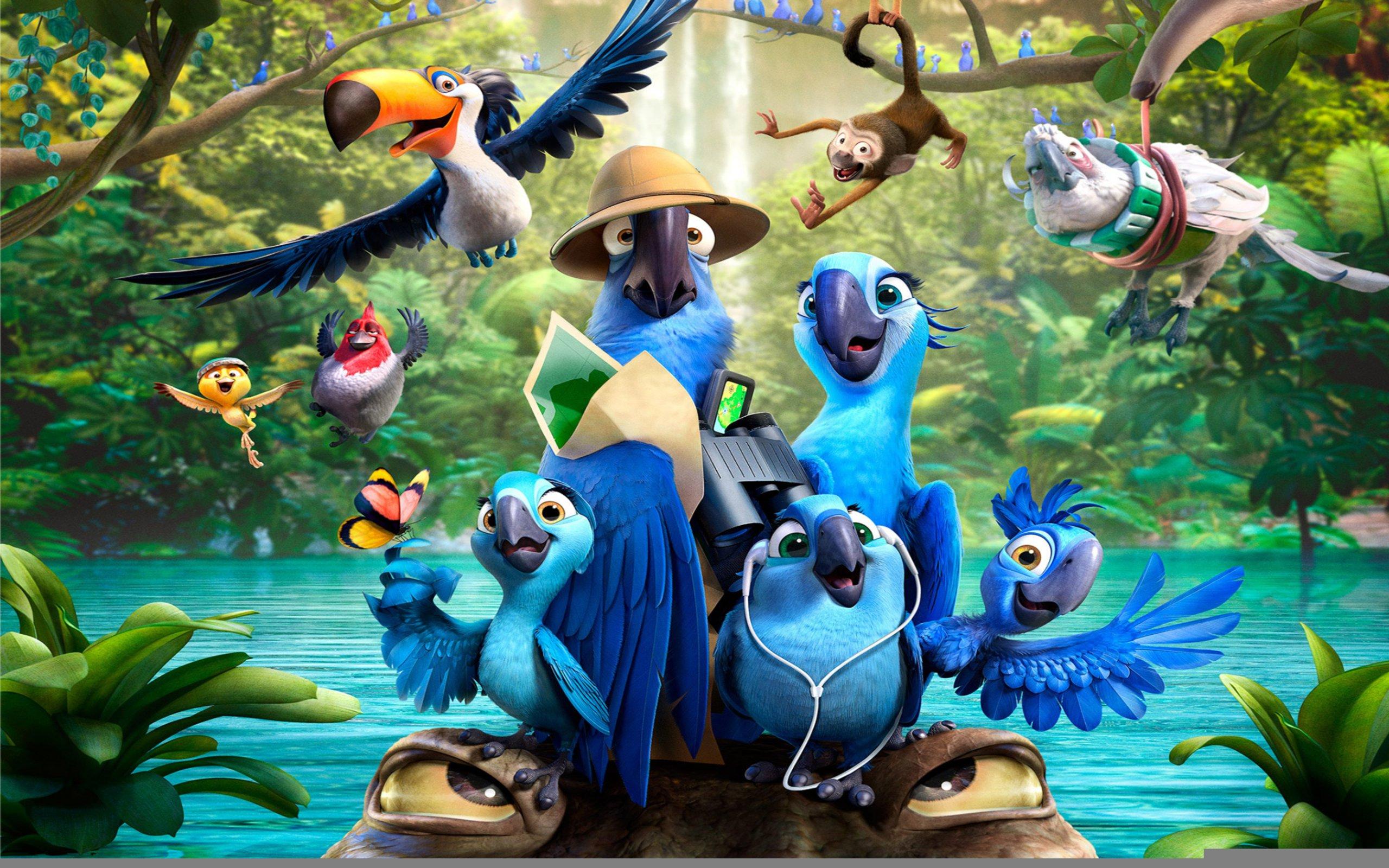 Creature 3d Movie Wallpaper Download Rio 2 Movie Cartoon Wallpaper 2560x1600 9576